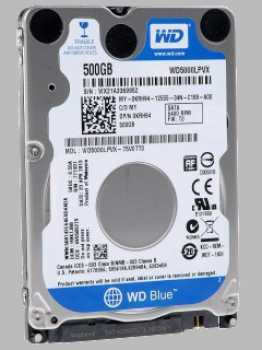 Жесткий диск Western Digital Blue 500Gb
