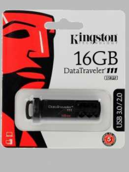 Flash USB 3.0 Kingston 16 Gb DataTraveler DT111 (DT111/16GB)