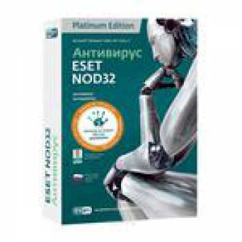 ESET NOD32 Антивирус + Vocabulary - лицензия на 1 год  на 3 ПК
